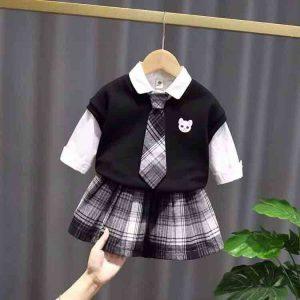 đồ bộ vest bé gái