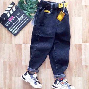 quần jean bé trai dài