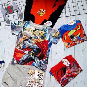 Bộ siêu nhân 3D choàng Thor