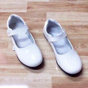 Giày búp bê trắng bé gái